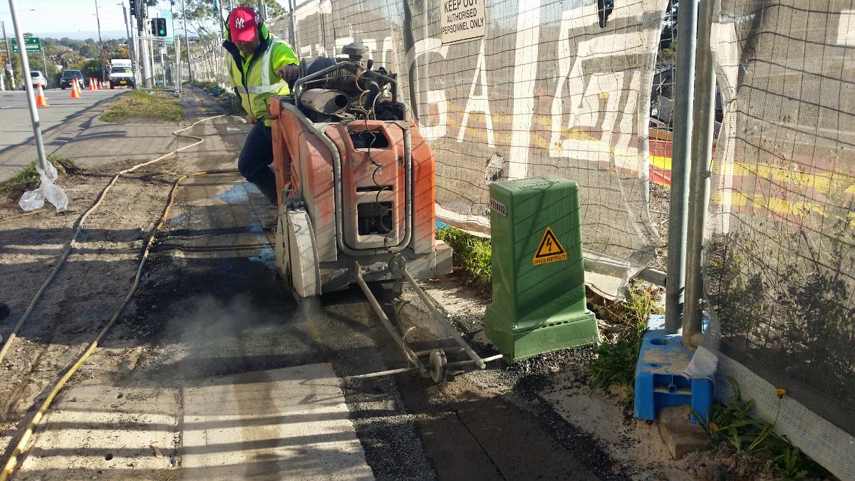 asfalt sawing sydney