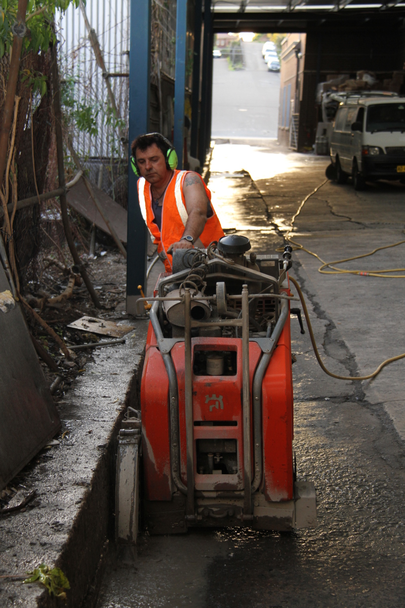 road sawing sydney