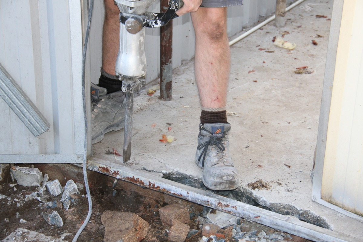 concrete breaking removal sydney
