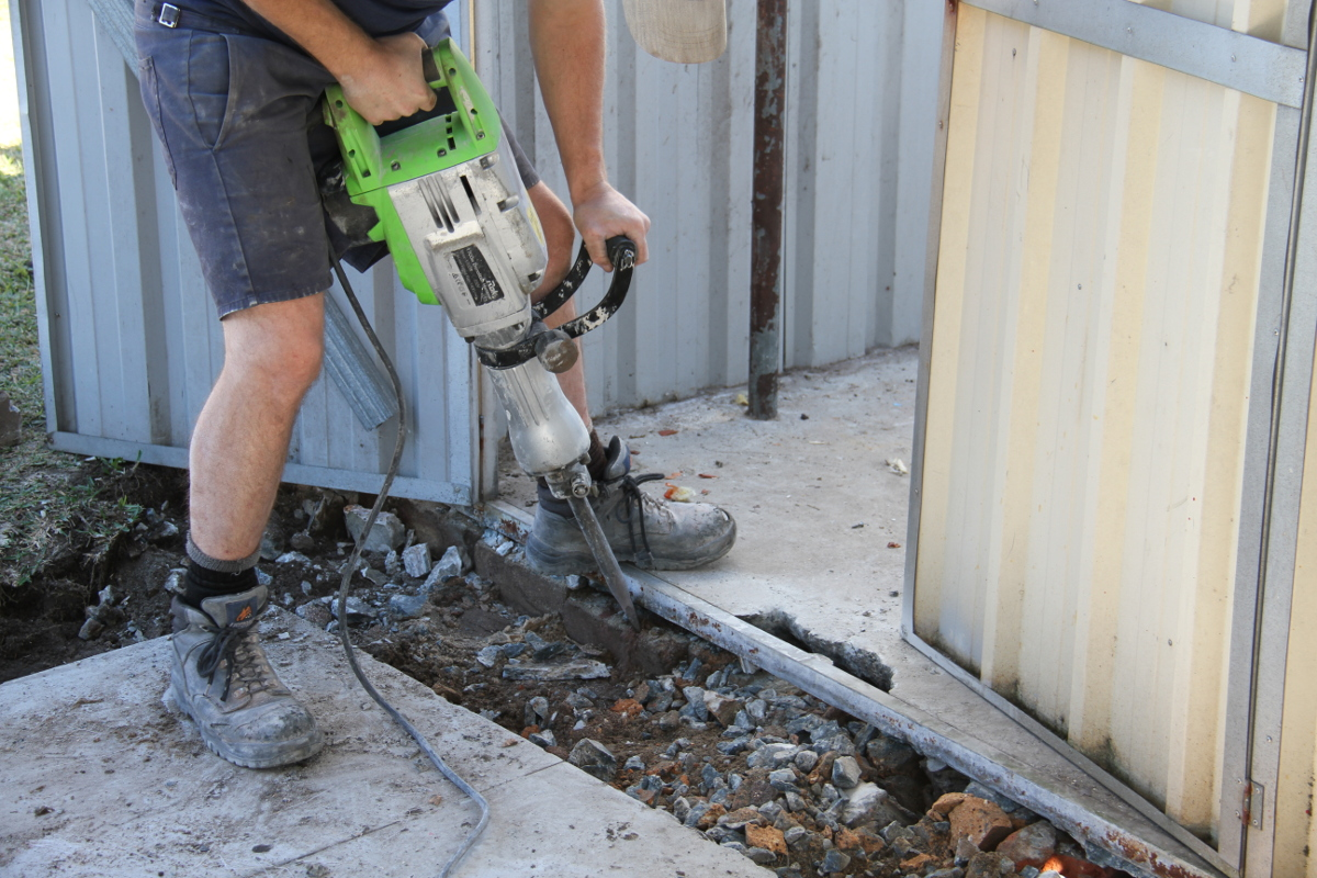 concrete breaking sydney